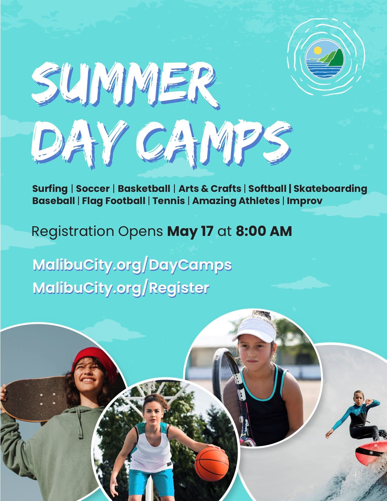 Summer day camps flyer