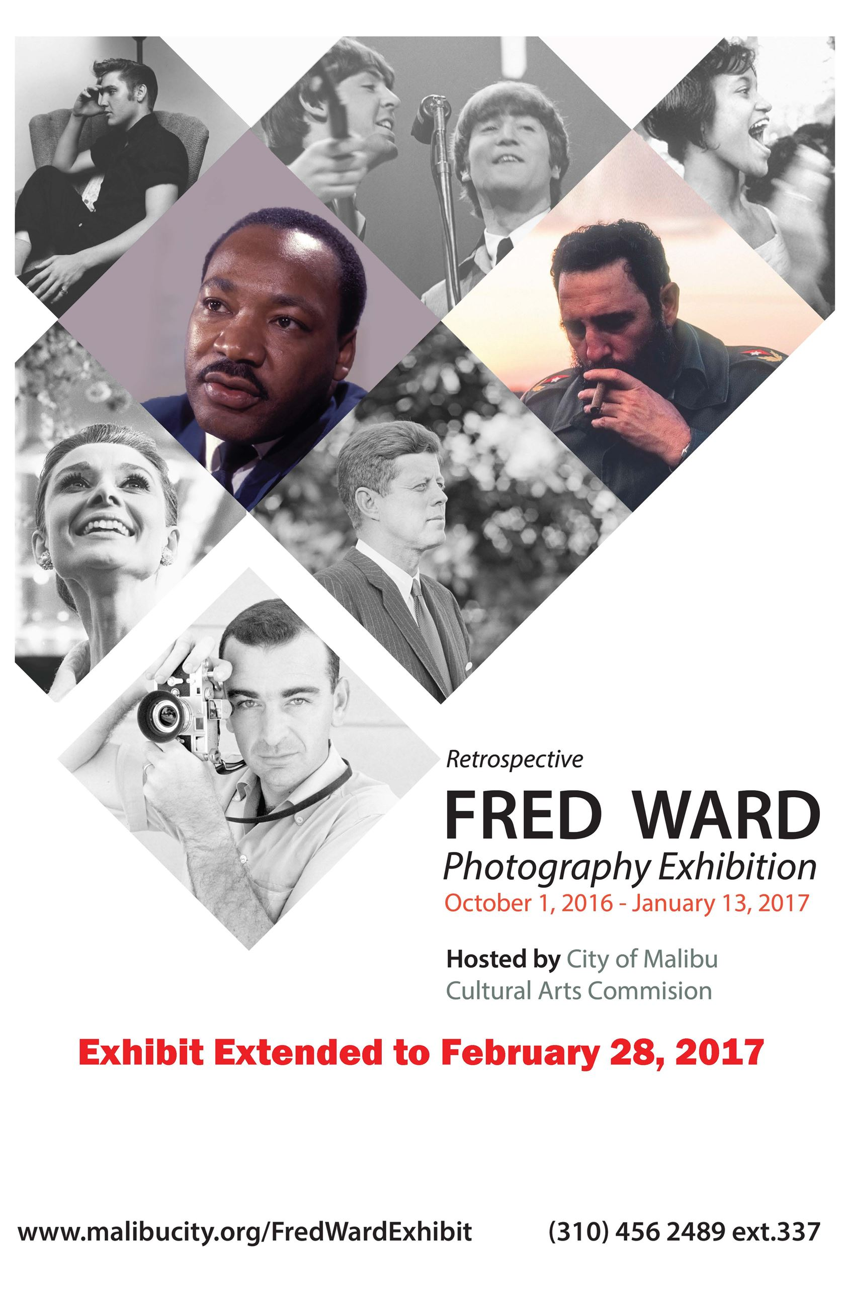 fred ward print poster exhibit extended