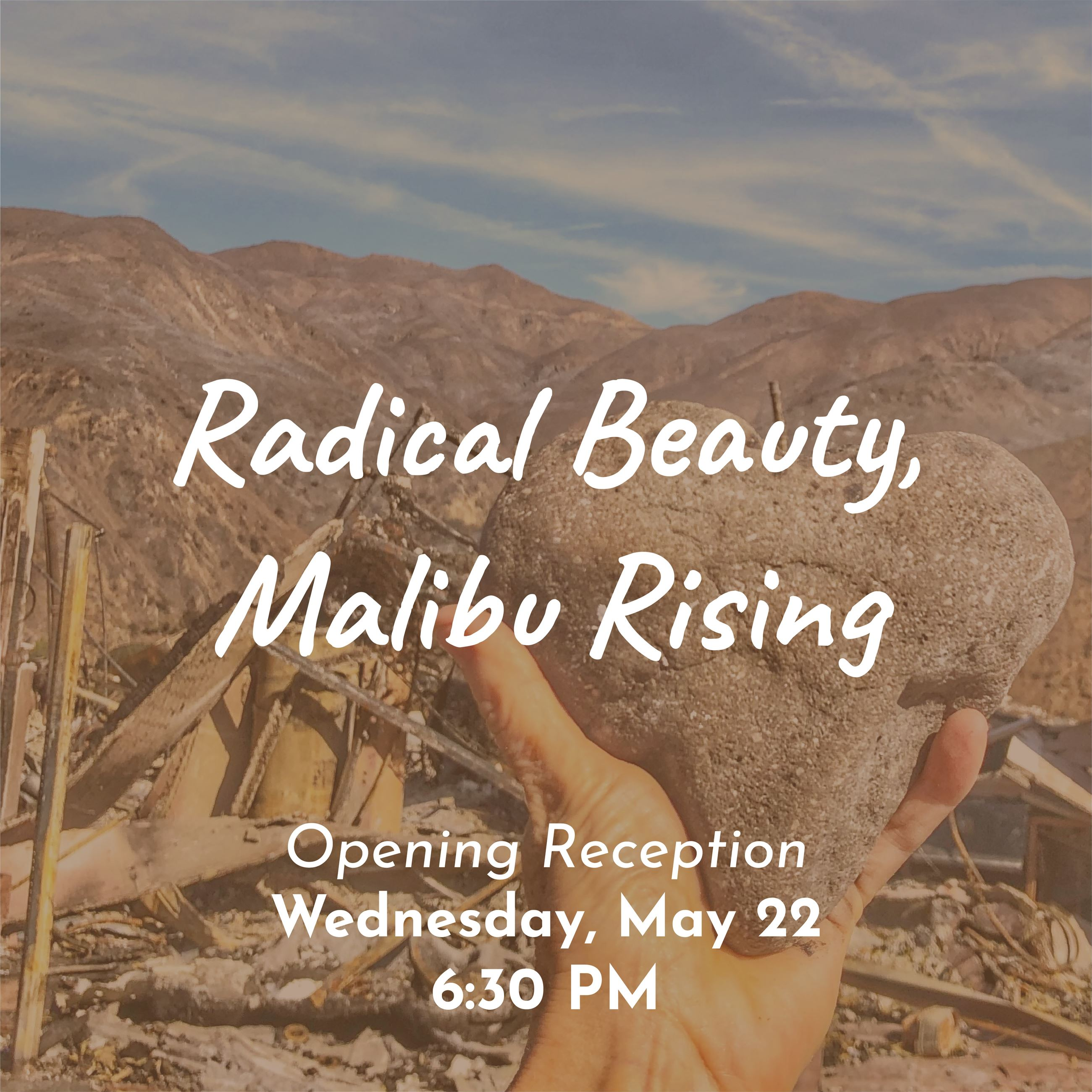 Radical Beauty Art Exhibition Reception