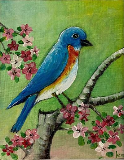 Kevin Hamna - Blue Bird (2)